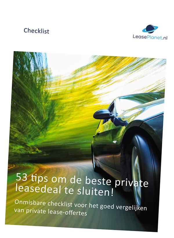 private lease checklist