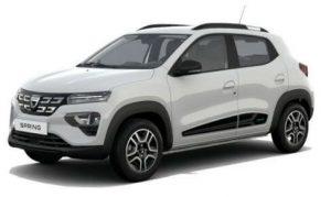 Dacia Spring SUV Blanc Kaolin unilak 497