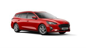 Ford Focus Race Red Stationwagon 444