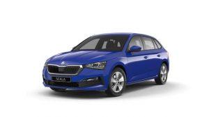 Skoda SCALA Energy Blue Hatchback 472